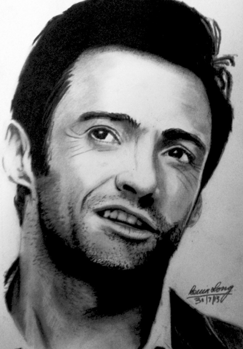 Hugh Jackman by KLARTWORK